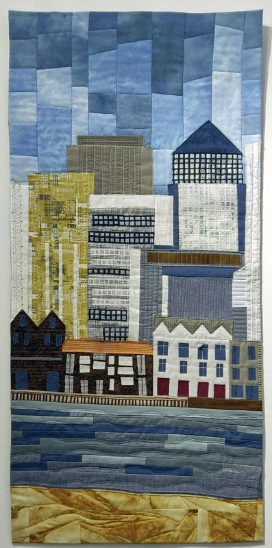 Jane Munns - Changing skyline, constant-river