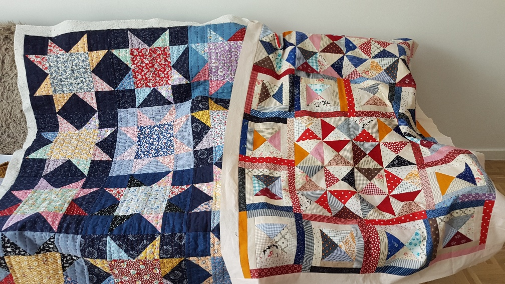Viv Philpot quilts made in April 2020