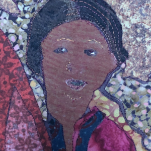 Close up of child from the village of Hodka - Annie Folkard